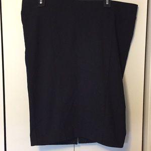 Torrid Black Pencil Skirt NWOT